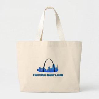 Historic Saint Louis Logo Product Large Tote Bag