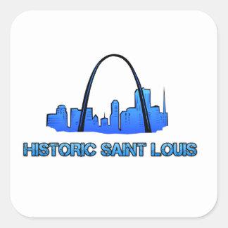 Historic Saint Louis Logo Product Square Sticker
