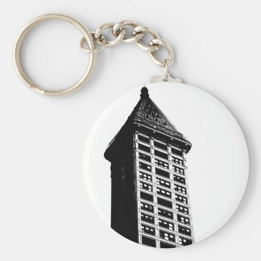 Historic Seattle Building Key Chains