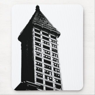 Historic Seattle Building Mouse Pad