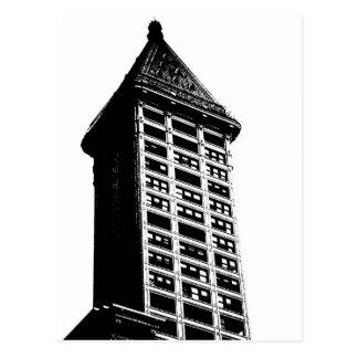 Historic Seattle Building Postcard