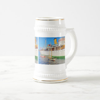 Historic Ship Beer Stein