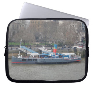 Historic Ship  Neoprene Laptop Sleeve 10 inch