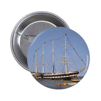 Historic ships 6 cm round badge