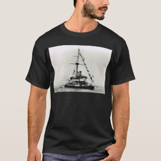 Historic Ships HMS Devastation, dressed overall T-Shirt