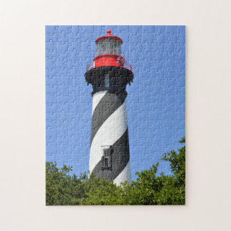 Historic St. Augustine, Florida Lighthouse Jigsaw Puzzle