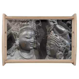 Historic Statue Serving Tray