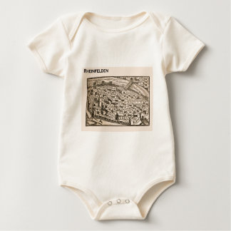 Historic Switzerland, 16th century town Baby Bodysuit