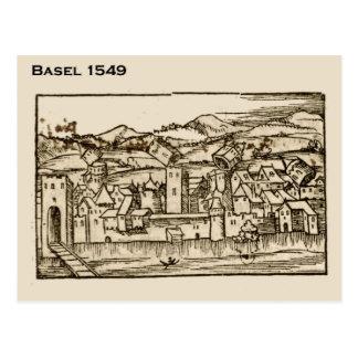 Historic Switzerland, Basel 1549 Postcard