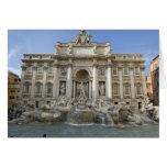 Historic Trevi Fountain in Rome, Italy