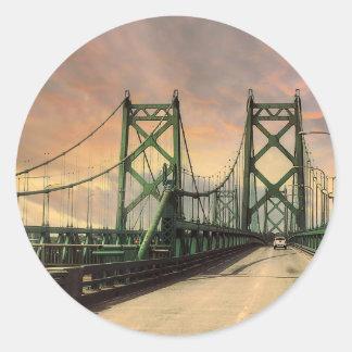 Historic Twin Bridges Stickers