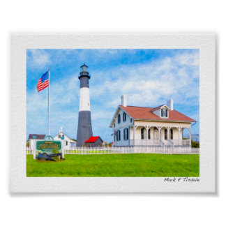 Historic Tybe Island Light - Mini Posters