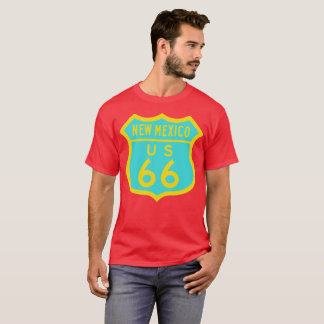 Historic U.S. Route 66: New Mexico T-Shirt