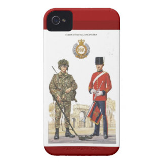 Historic Uniforms, Corps of Royal Engineers iPhone 4 Case-Mate Cases