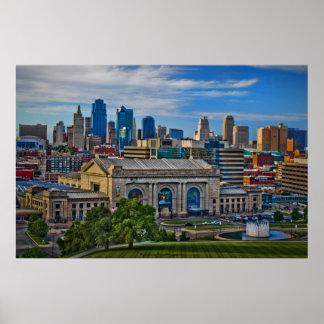 Historic Union Station - Kansas City Poster Print