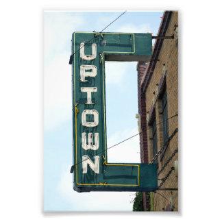 Historic Uptown Theatre, Marceline, Missouri Photo Print