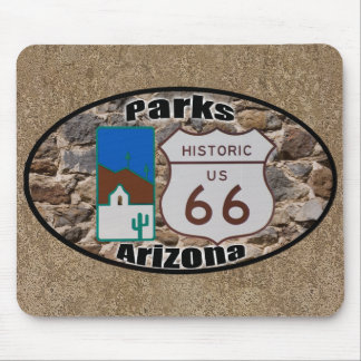 Historic US Route 66 Parks Arizona Mouse Pad