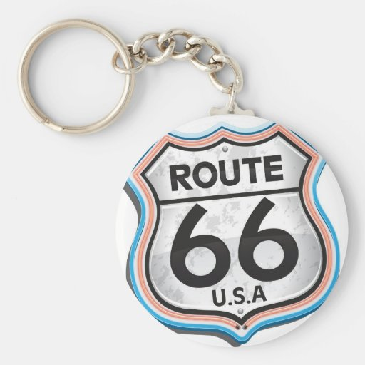 Historic USA Route66 gifts Keychain