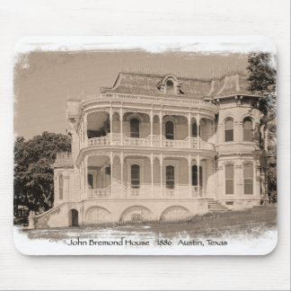 Historic Victorian House in Austin Mouse Pad
