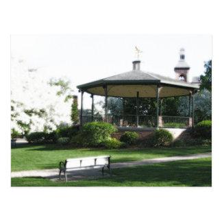 Historic Woodstock Square (postcard) Postcard