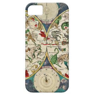 Historic Zodiac Map, 1670 iPhone 5 Covers