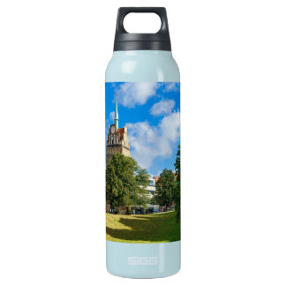 Historical building in Rostock Insulated Water Bottle