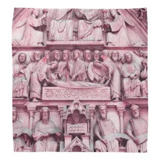 Historical, Christian sculptures Notre Dame Paris Bandana