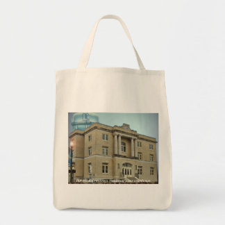 historical downtown McKinney Texas Grocery Tote Bag