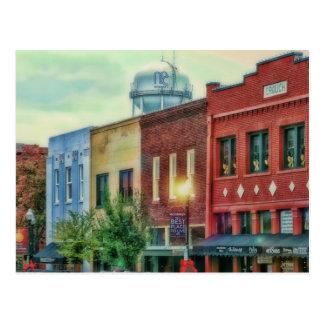 historical downtown McKinney Texas Postcard