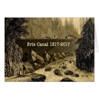Historical Erie Canal Bicentennial Years Card