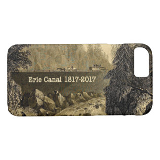 Historical Erie Canal Bicentennial Years iPhone 8/7 Case