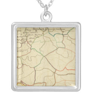 Historical Germany and Austria Silver Plated Necklace
