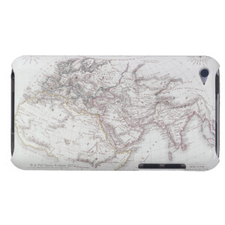 Historical Map of the Known World iPod Touch Cover