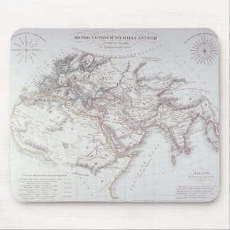 Historical Map of the Known World Mouse Pad