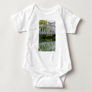 Historical Mill And Bridge Ozark Baby Bodysuit