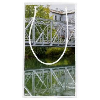 Historical Mill And Bridge Ozark Small Gift Bag