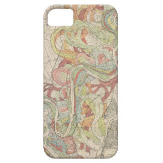Historical Mississippi River Map iPhone 5 Cover