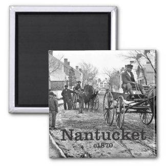 Historical Nantucket Photo Souvenir Magnet