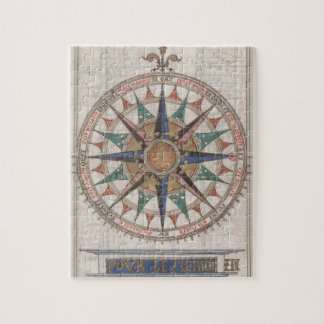 Historical Nautical Compass (1543) Jigsaw Puzzle