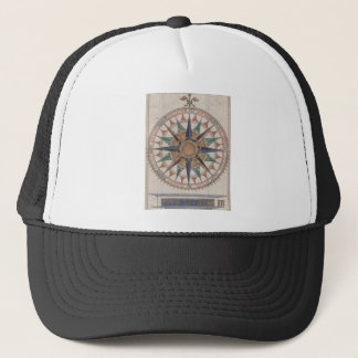 Historical Nautical Compass (1543) Trucker Hat