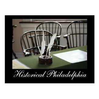 Historical Philadelphia Postcard