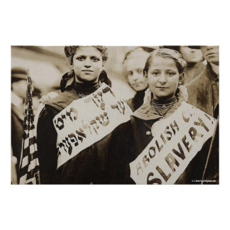HISTORICAL POSTERS - END CHILD SLAVERY - PHOTOS