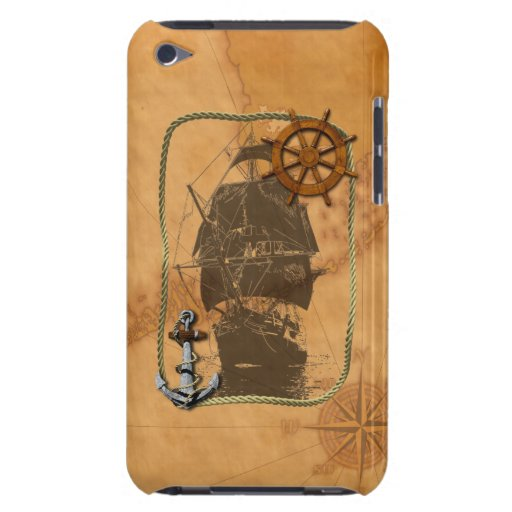 Historical Sailing Ship iPod Touch Covers