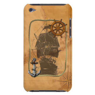 Historical Sailing Ship iPod Case-Mate Cases