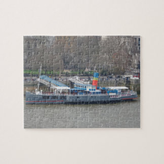 Historical Ship on Thames Jigsaw Puzzle