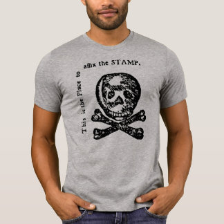 Historical Stamp Act Satire Shirts