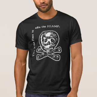Historical Stamp Act Satire Tee Shirts