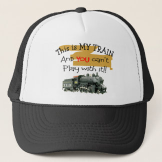 Historical Train Gifts--Hilarious sayings Trucker Hat