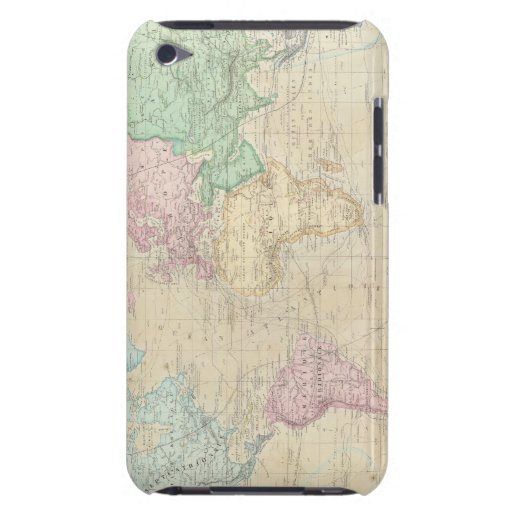 Historical World Map 2 iPod Touch Cases