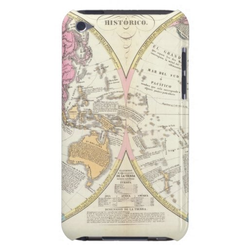 Historical World Map 3 Case-Mate iPod Touch Case
